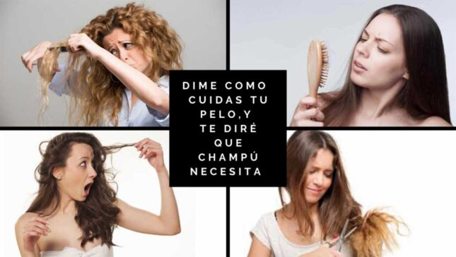 como cuidar tu pelo con champu