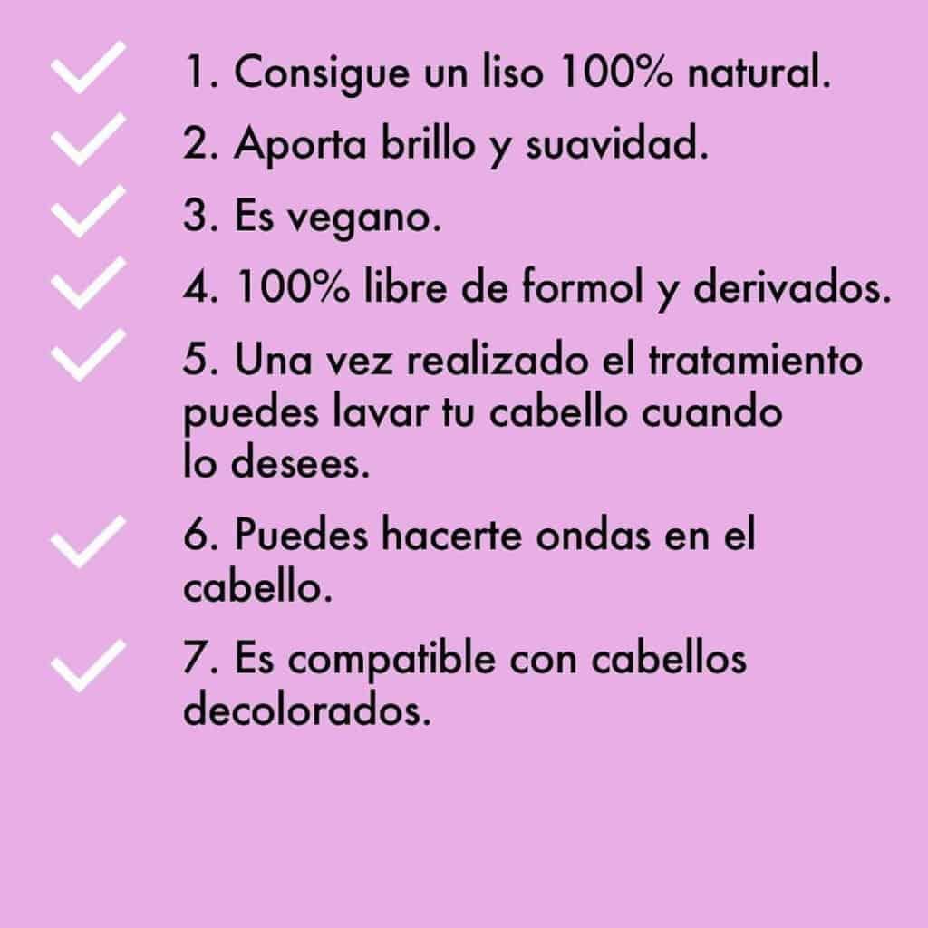 Los 14 beneficios del alisado de keratina de goa organics